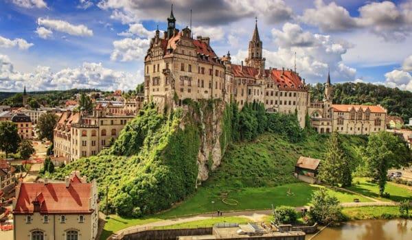 Ancient castle in Sigmaringen Black Forest, Schwarzwald, Germany