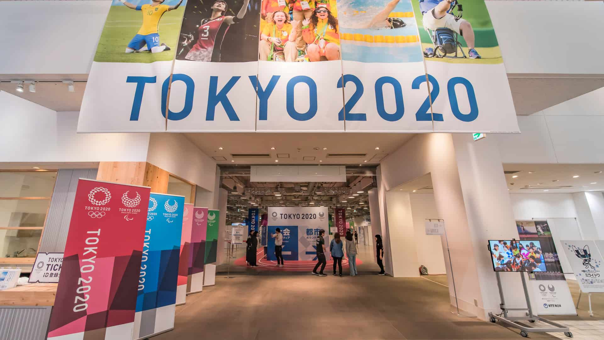 Promotional event of Tokyo 2020 Summer Olympics Games